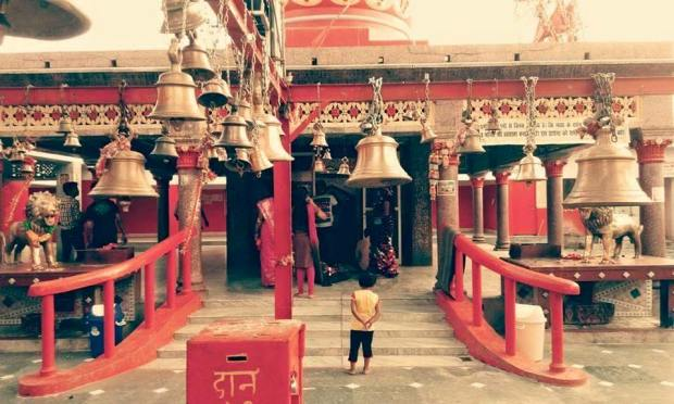 Kali Vahan , Mandir